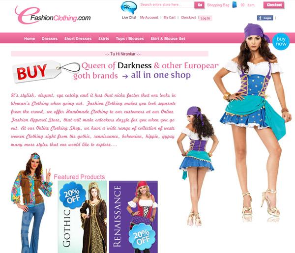 E-Fashion Clothing