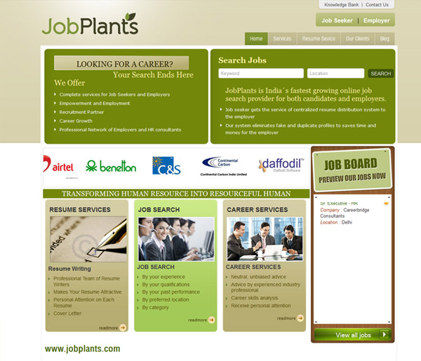 Job Planets