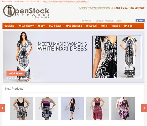 Open Stock Apparel
