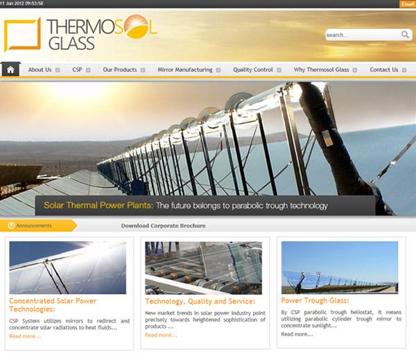 Thermosol Glass